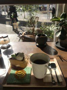 最近のお気に入りのカフェ